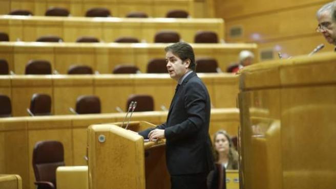 Roberto Bermúdez de Castro Comparece en el Senado.