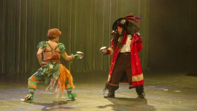 Una Función De Peter Pan El Musical Incluye Actores Con