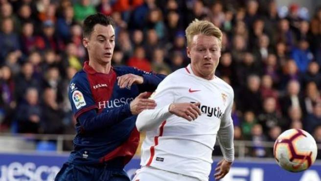 Huesca vs. Sevilla.