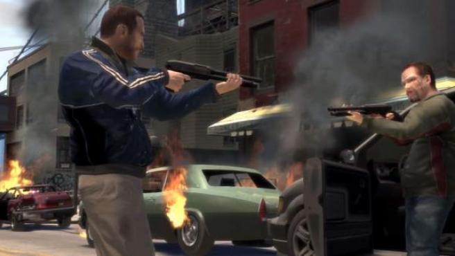 Grand Theft Auto está en el ranking de los diez videojuegos más violentos.