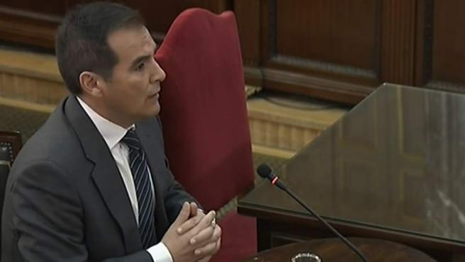 José Antonio Nieto, exsecretario de Estado de Seguridad, en el juicio.