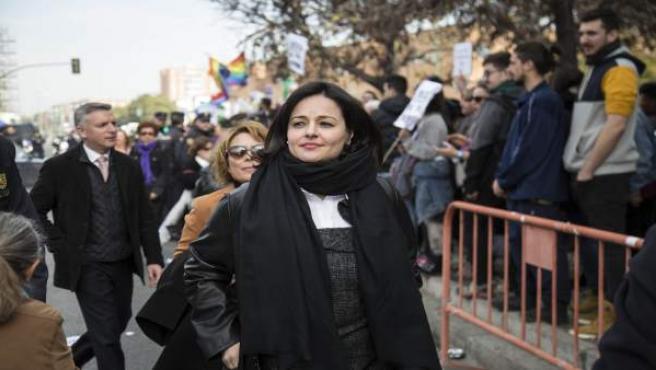 Virginia Pérez en una imagen de archivo