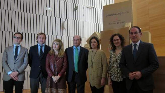 El Ayuntamiento, empresarios y sindicatos presentan la marca Córdoba Logística