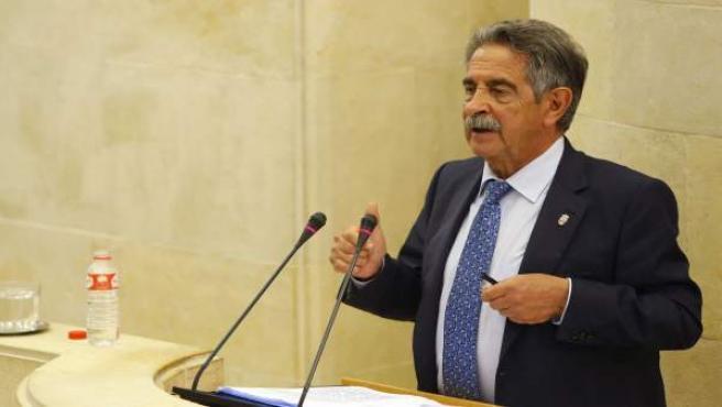 Revilla en el debate sobre el estado de la región