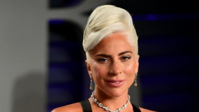 La cantante y actriz Lady Gaga tras ganar el Oscar por 'Shallow'.