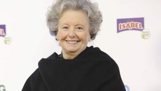 María Galiana, en una imagen de archivo.