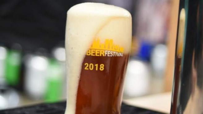Vaso oficial del Barcelona Beer Festival 2018.