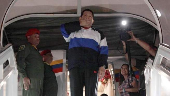 Una de las últimas fotos de Hugo Chávez con vida, tomada en diciembre de 2012.