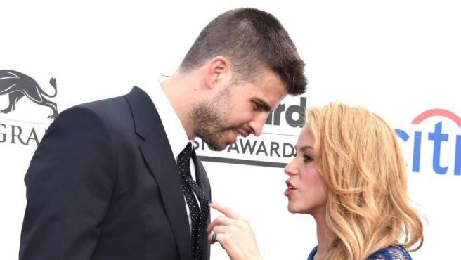 Imagen de archivo de Gerard Piqué y Shakira durante un evento.