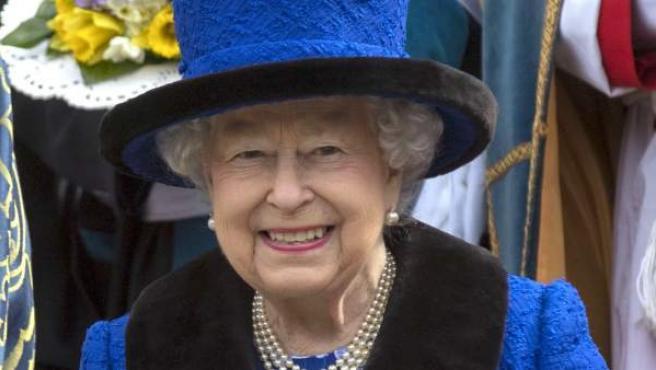 La reina Isabel II de Inglaterra, en una imagen reciente.