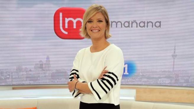 María Casado, presentadora de La Mañana de La 1.