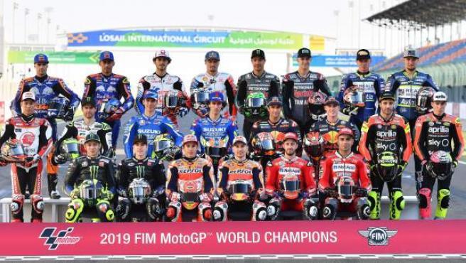 Pilotos de MotoGP de la temporada 2019.