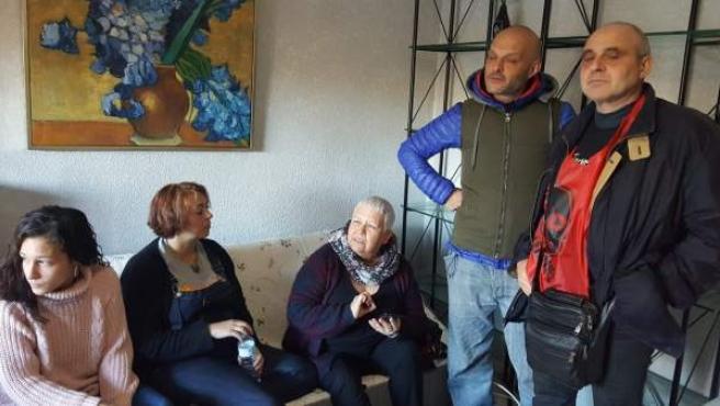 Aplazado el desahucio de una familia en Leganés.