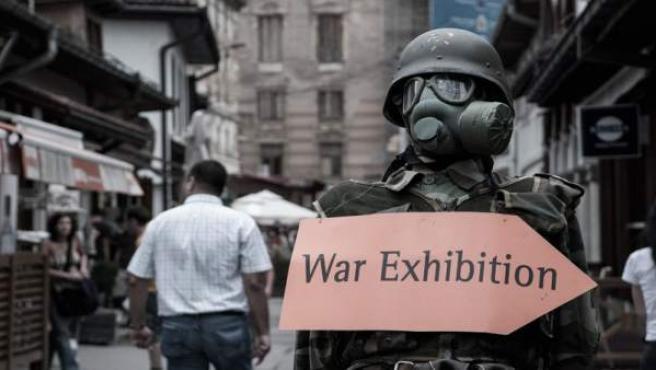 Málaga.- Elena Pedrosa aborda en Galería Central la guerra en Bosnia desde la fo