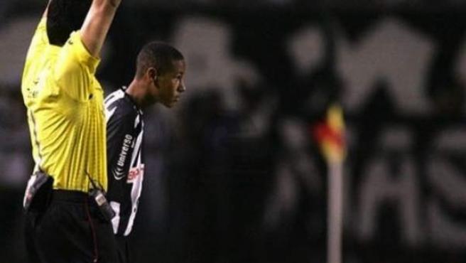 Momento del debut de Neymar Junior con el Santos en marzo de 2009.
