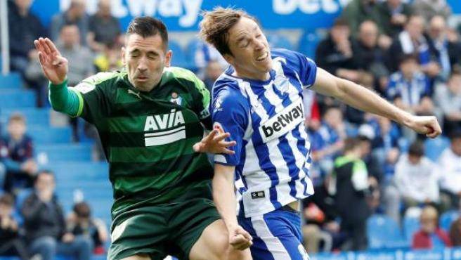Alavés y Eibar se enfrentan en la jornada 27 de Liga.