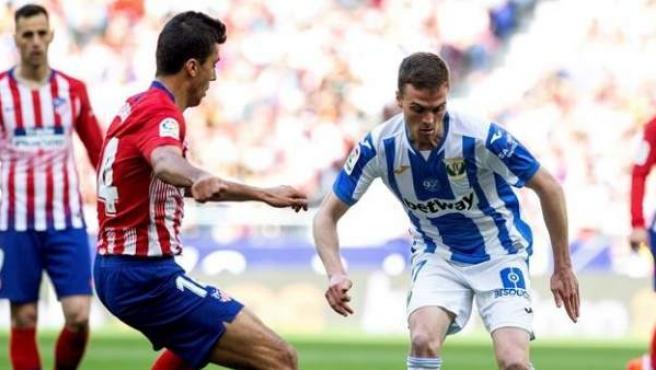 Atlético de Madrid vs. Leganés.