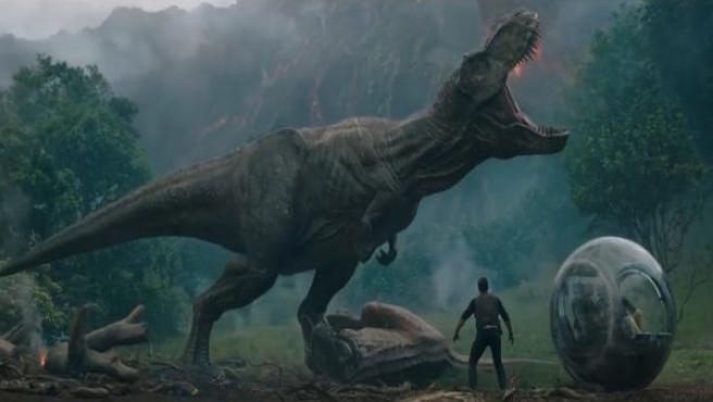 Fotograma de 'Jurassic World: El reino caído'.