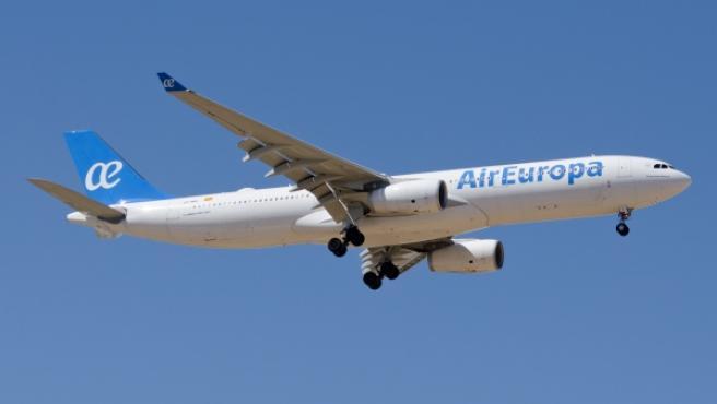 Un avión A330 de Air Europa