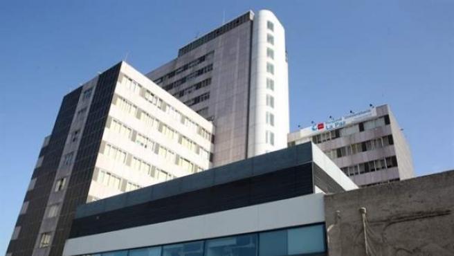El Hospital La Paz de Madrid.