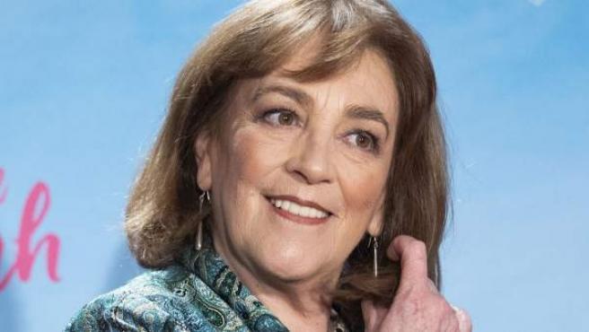 La actriz Carmen Maura, durante el estreno de la película 'Gente que viene y bah' el pasado 15 de enero en Madrid.