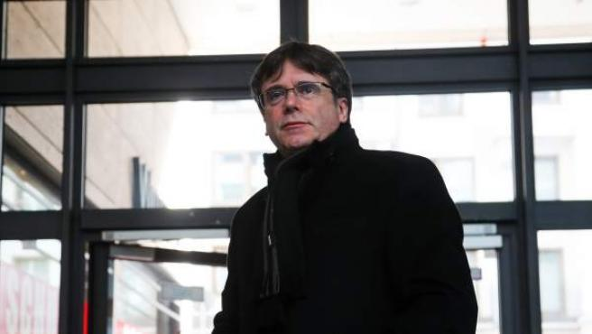 El expresident catalán Carles Puigdemont.