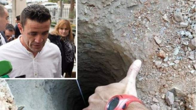 David Serrano, dueño de la finca de Totalán donde había un pozo en el que cayó Julen Roselló.