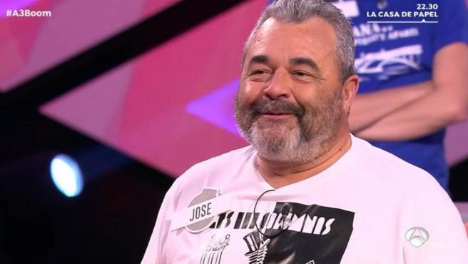 José Pinto, el exconcursante de 'Los lobos' en 'Boom'.