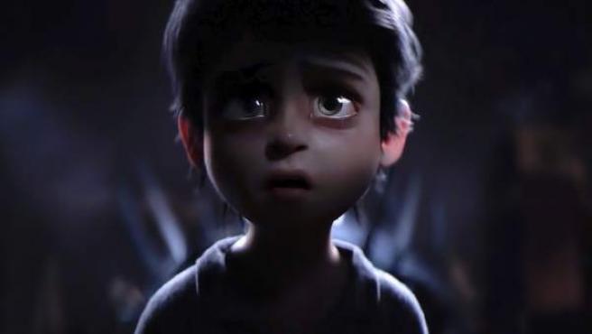 Una imagen del cortometraje 'La Noria', de Carlos Baena.