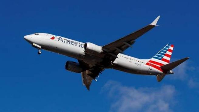 Un avión Boeing 737 Max 8 de American Airlines.