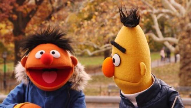 Epi y Blas, las famosas marionetas de 'Barrio Sésamo'.