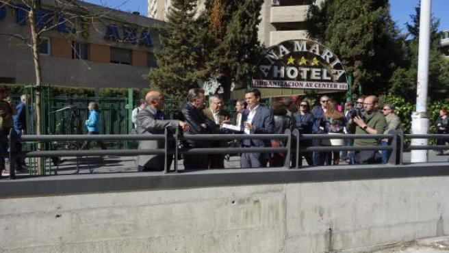 Granada.- El Ayuntamiento pide a la Junta que ponga en marcha el parking subterr