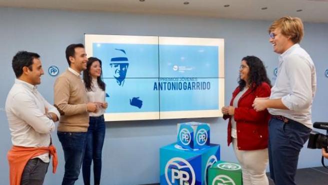 Málaga.- NNGG impulsa los Premios 'Antonio Garrido' para distinguir el talento j
