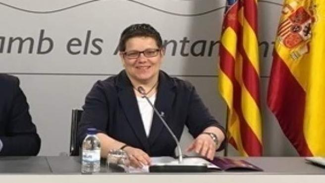 Valencia.- Investigada la diputada de Deportes y Champi Herreros por una ayuda d