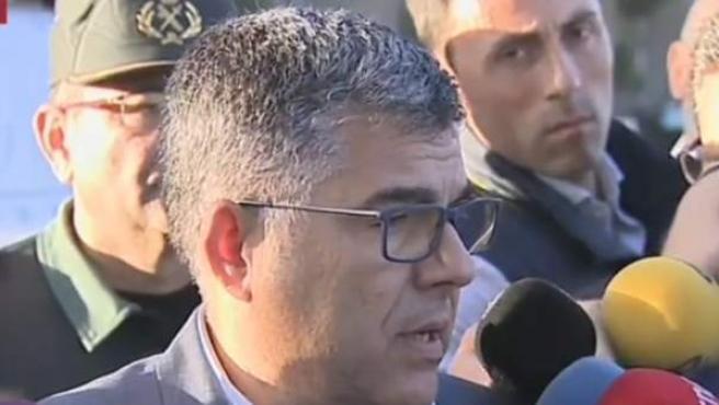 Juan Carlos Fulgencio, delegado de Gobierno en Valencia.