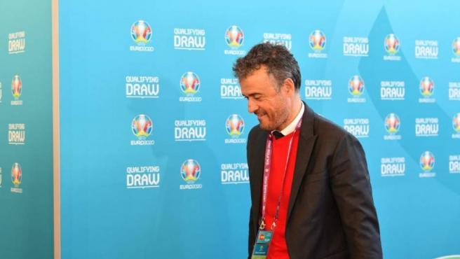 Luis Enrique, seleccionador español.