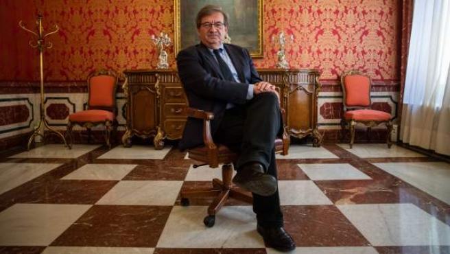 Fernando Martínez López, director general de Memoria Histórica, en el Ministerio de Justicia.