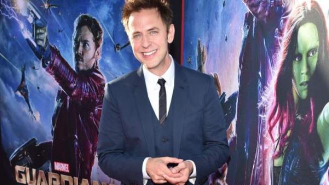 James Gunn, en el estreno de 'Guardianes de la Galaxia' en 2014.
