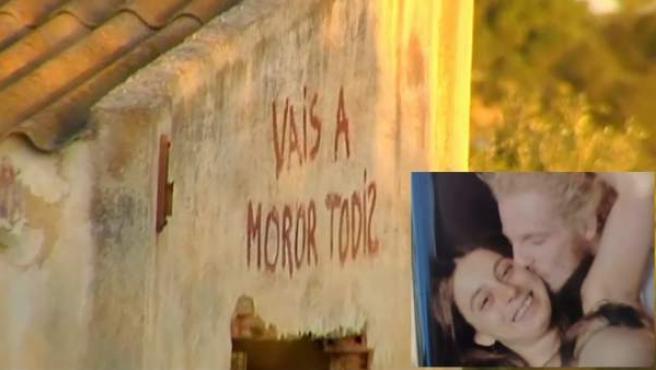 Imagen de la casa de Godella ocupada por la familia y de los padres detenidos por matar presuntamente a sus dos hijos.
