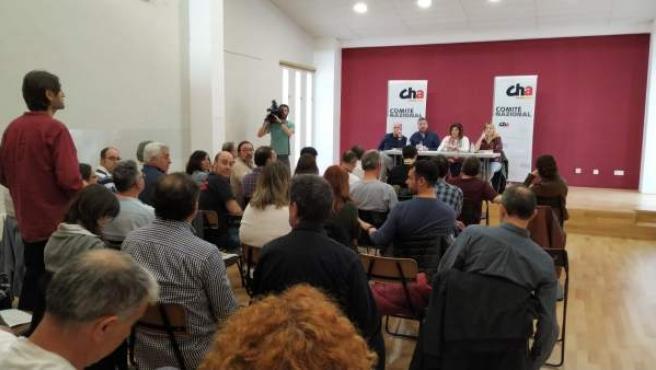 28A.- Chunta Aragonesista No Concurrirá A Las Elecciones Generales