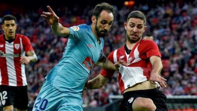 Athletic vs. Atlético de Madrid.