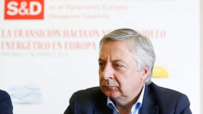 El eurodiputado del PSOE José Blanco, en unas jornadas en Madrid.