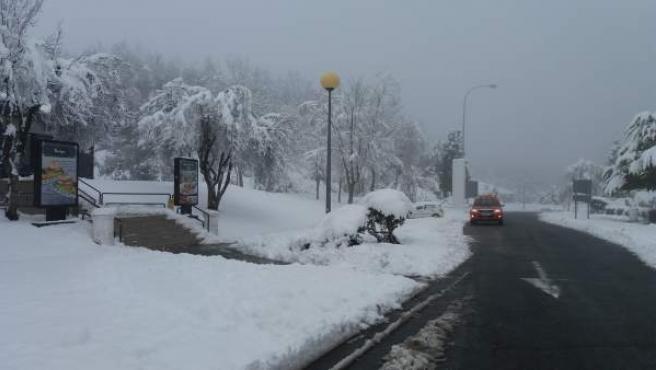 Nieve en Euskadi