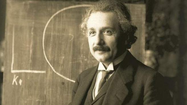 Albert Einstein, en una imagen tomada en el año 1921.