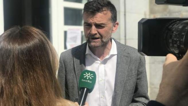 Málaga.- 28A.- Maíllo anuncia que Alberto Garzón y Eva García Sempere encabezará