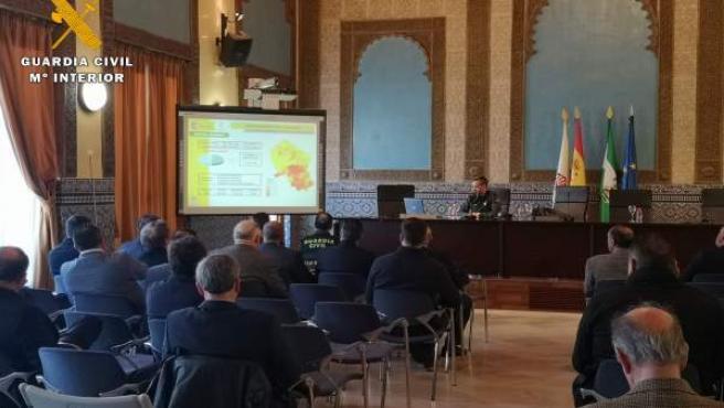Córdoba.- Sucesos.- La Guardia Civil desarrolla una jornada de cooperación con l