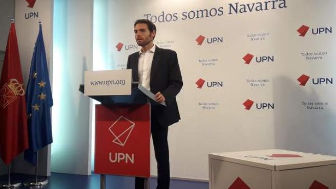 28A.- Sergio Sayas y Carlos García Adanero, candidatos a las primarias de UPN al