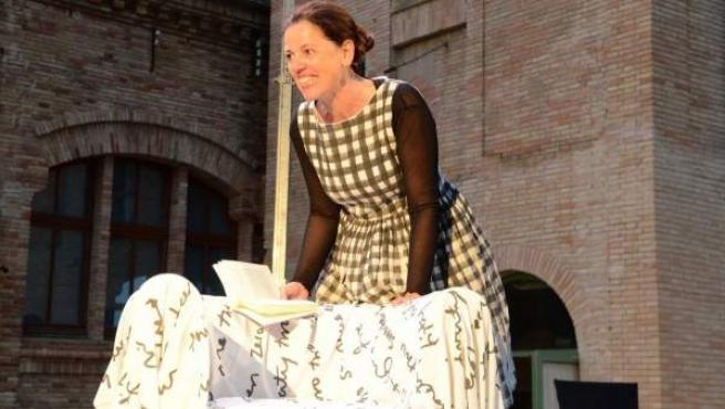Imagen de la actriz catalana Cristina Cervià.