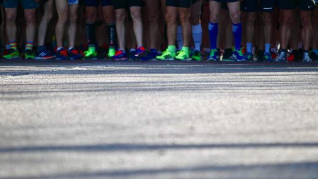 La Media Maratón Universitaria de Madrid de 2019 a punto de empezar.