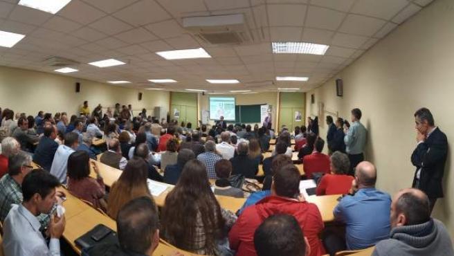 Jaén.-Rector de la UJA presenta su campaña a la reelección con el fin de consoli